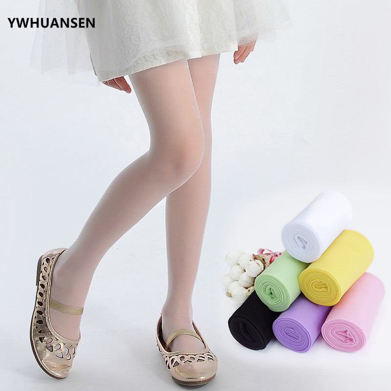 5e7284f003659 YWHUANSEN Summer Children's Tights White Dancing Thin Children's Pantyhose  For Girls Baby Stockings Velvet Kids Meias Collant-in Tights & Stockings  from ...