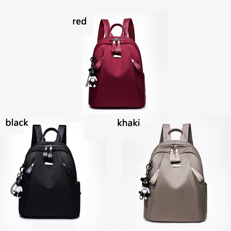 Mochilas mujer 2018 New Oxford cloth waterproof student bag  Travel casual backpack women outdoor bag mochila feminina CL05 1