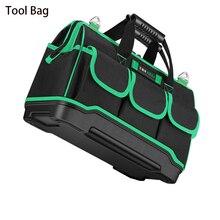 Купить с кэшбэком 2018 New Tool Bag Oxford Cloth Waterproof Tool Bag Electrician Portable Multi Function Work Bag Utility Bag Tool Organizer