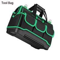 2018 nueva bolsa de herramientas Oxford tela impermeable bolsa de herramientas electricista portátil multifunción bolsa de trabajo herramienta organizador