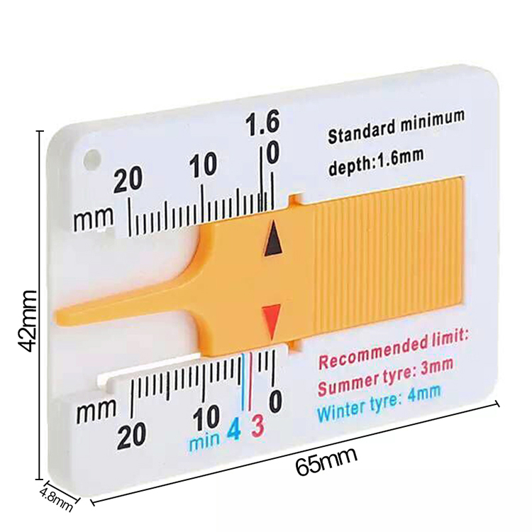 0-20 мм Автомобильный дептометр протектора для шин, индикатор глубины, калибр, мотоциклетный прицеп, Ван колесо, инструмент для измерения, поставки