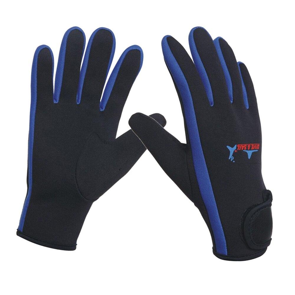 Неопреновые перчатки 1,5 мм для плавания и дайвинга, неопреновые перчатки с волшебной палочкой, перчатки для зимнего плавания, теплые, против...