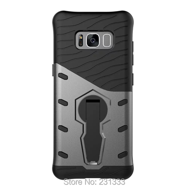 Stand Armor Hybrid Hard PC TPU Case For Samsung Galaxy S9 S8 PLUS J5 A5 2017 J3 Prime MOTO G5 PLUS G3 X Play Phone Cover 1pcs