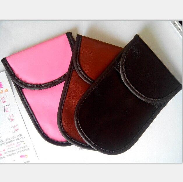Новый 4.5 »PU мобильный телефон ВЧ сигнала Экранирование блокатор сумка помех чехол Анти радиационной защиты для IPhone Xiaomi