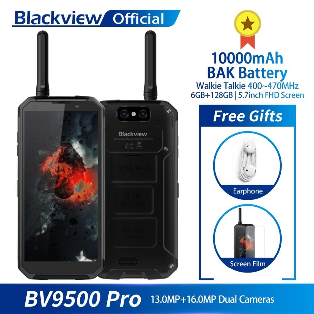 Blackview BV9500 Pro impermeable Walkie Talkie Smartphone 6 GB RAM 128 GB ROM Octa Core 5,7