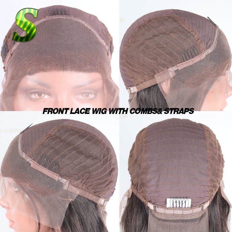 2  lace front wig