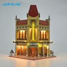 LED Light Kit Compatible with Lego Building Blocks Bricks Creator Palace Cinema Toys 2128pcs creator expert pet shop construct collection diy 30015 model building blocks asssemble toys bricks compatible with lego