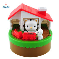 Itazura coin bank Automated rubare coin cat piggy bank PVC Scatola di risparmio di Denaro Box Hucha cofre tirelire kumbara Regalo per Kid