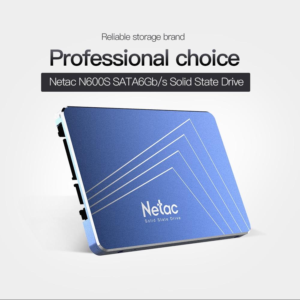Netac 2.5'' SSD 480GB 240GB 120GB Internal Solid State Drive TLC 430GB SSD Hard Disk SATA6Gb/s For Laptop Desktop Computer N500S