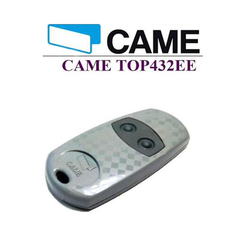 For CAME TOP 432EE compatible garage door remote control