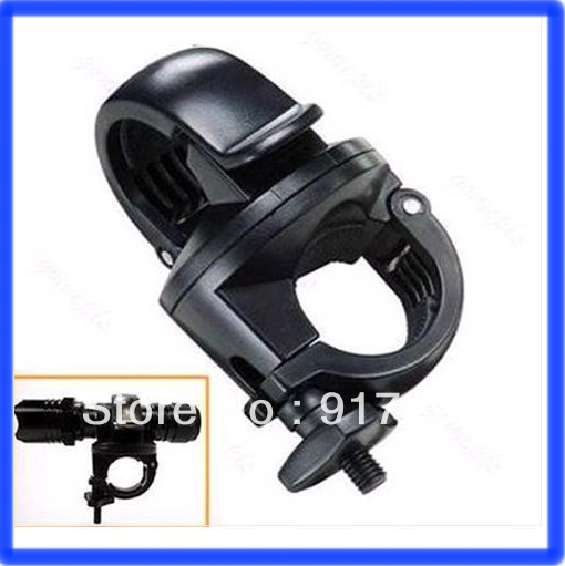 Flashlight Mount Holder For LED Bicycle Bike Torch Clip