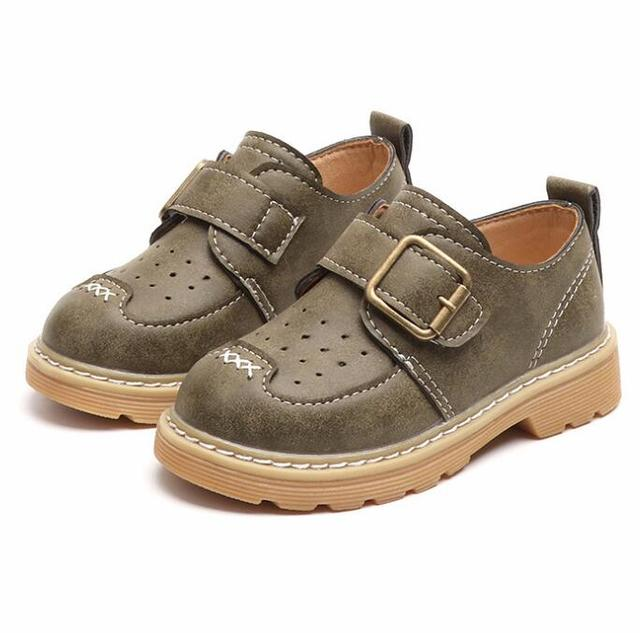 Baby Toddler Boy Leather Shoes Soft Oxfords Boys Dress Shoes