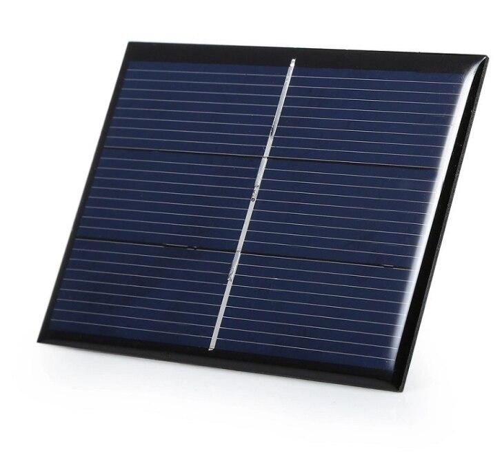 0 65 w 1 5 v 430ma mini celula solar policristalino do painel solar diy carregador