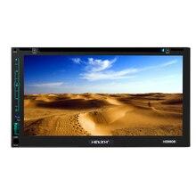 HEVXM HE6606 6.95 pouce véhicule navigation intégré machine Android GPS navigation lecteur DVD grand écran tactile WIFI