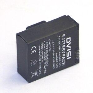 Image 4 - 1250mAh AHDBT 301 AHDBT301 AHDBT301 AHDBT302 Rechargeable Battery for GoPro HERO3+ HERO3 and GoPro AHDBT 201 AHDBT 301 AHDBT 302