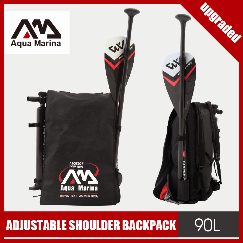 Aqua marina shoulder bag carry bag for inflatable boat kayak sup board stand up paddle surfing board dinghy raft surf board shoulder bag carry bag for inflatable boat kayak sup board stand up paddle surfing board pump oar dinghy raft surf board a05011