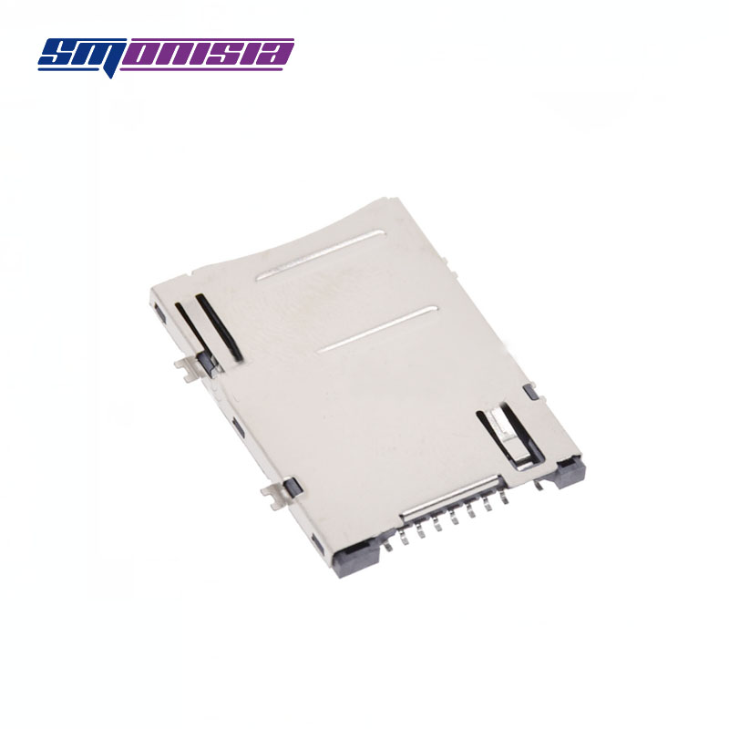 100pcs 8+1 9P SIM mobile phone car solt Since the bomb SIM card socket Tablet PC SIM card connector