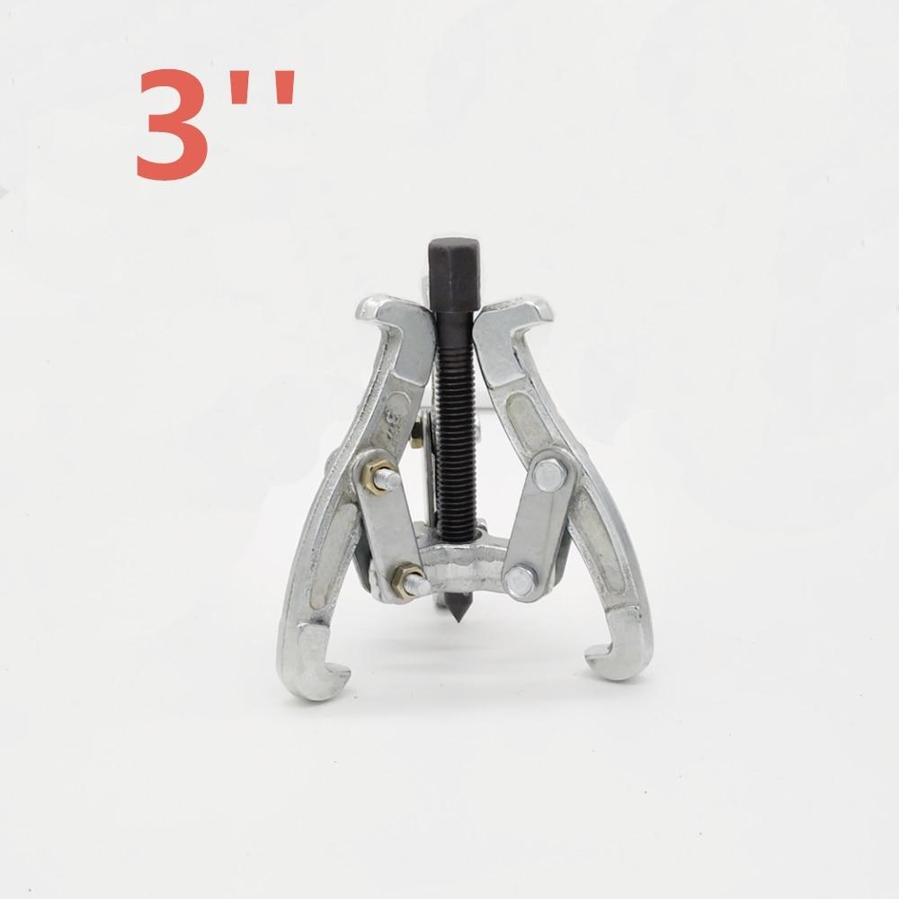 """3 Jaw Lagertrekker Auto Gear Remover Trekken Extractor Tool w/Omkeerbaar Benen 3 """"(Bruin) 4 ''(goud) 6'' (Oranje)"""