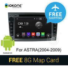 3G WIFI Android 4.4 Car DVD Video Player Stereo with GPS radio bluetooth navi multimedia CANBUS SD card For Opel Astra 2004-2009