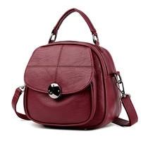 Women Shoulder Bag Backpack Famous Brands Fashion Ladies Shoulder Bags Leather Bag For Young Girls School