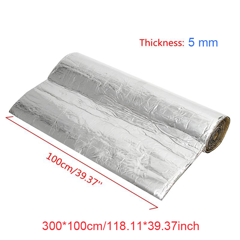 118x39 Sound Deadener Car Heat Shield Insulation Deadening Material Mat New ...