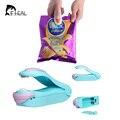 FHEAL Vacuum Food Sealer Mini Portable Heat Sealing Machine Impulse Bag Sealer Seal Machine Plastic Bag Clips Tools
