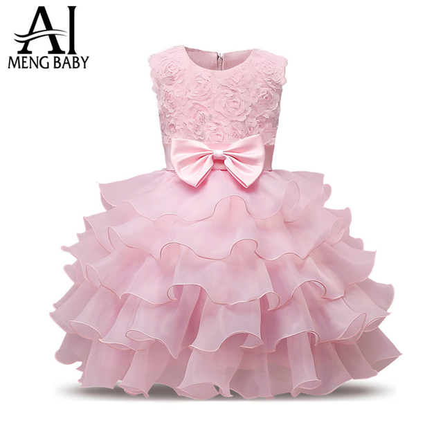 Ai Meng Baby Girl Baptism Dress For Newborn Baby 1st 2nd Birthday ...