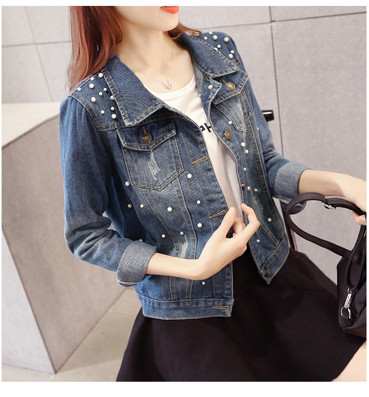 Women Denim Jacket Riverdale southside serpents Jeans bomber jacket Coat Casual female Outwear Solid Plus Size big size 4XL 5XL 7