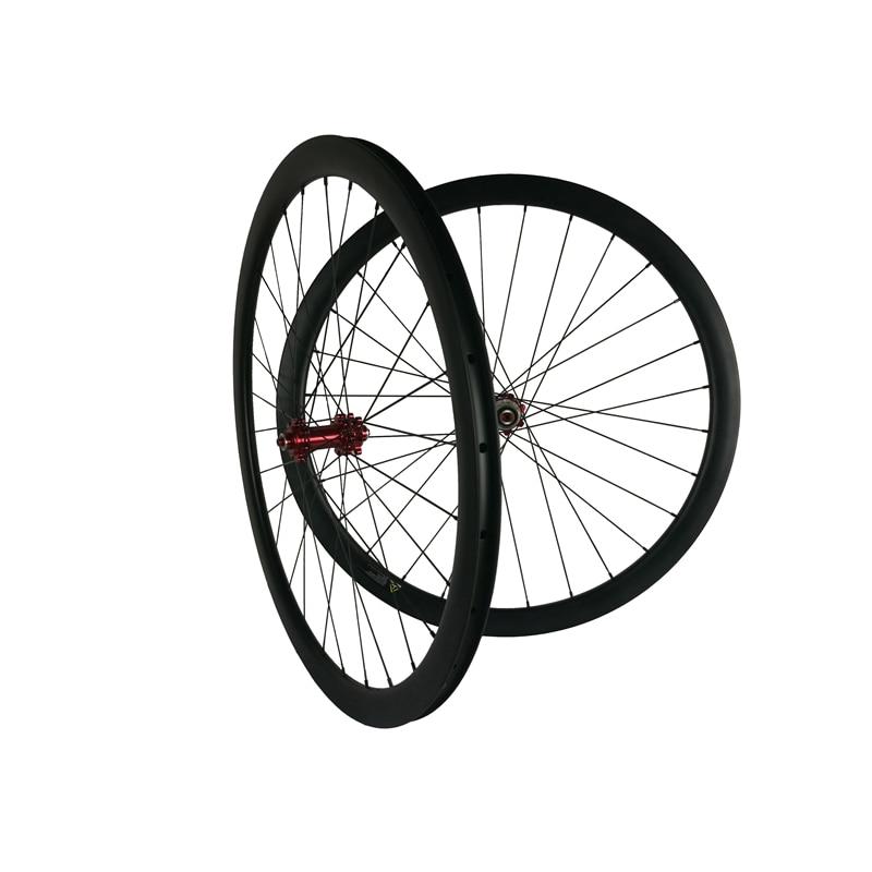 Carbon Tri Spoke Wheels 3 Spoke Road Wheelset Fixed Gear Wheels Road