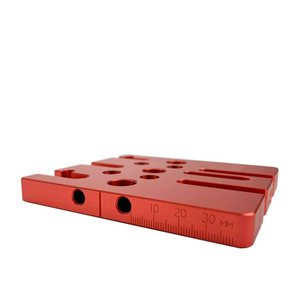 Image 5 - Woodworking Splicing board hole opener locator tenon hole Puncher with 6/8/10mm drill bushing woodworking tool