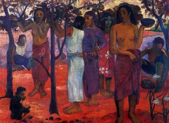 High quality Oil painting Canvas Reproductions Perfect days (1896) by Paul Gauguin hand painted