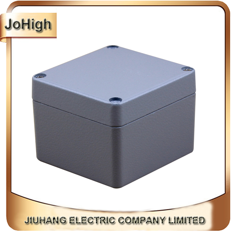 Factory Supply Rectangle Waterproof And Dustproof IP67 Aluminium Electronic Box 80*75*60mm free shipping 1piece lot top quality 100% aluminium material waterproof ip67 standard aluminium electric box 188 120 78mm