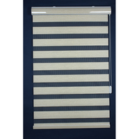 Manual zebra roller blind with smoothly chain and imported fabric