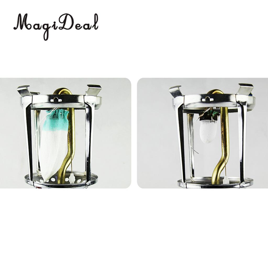 20pcs Universal Gas Lantern Mantles Replacement Parts for Camping Light