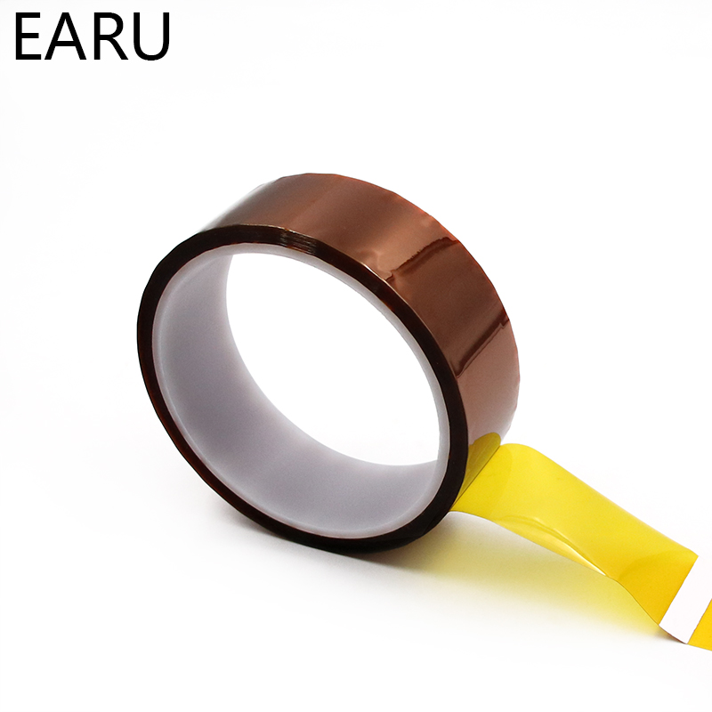 High Temperature Heat BGA Tape Thermal Insulation Tape Polyimide Adhesive Insulating Adhesive Tape 3D Printing Board Protection