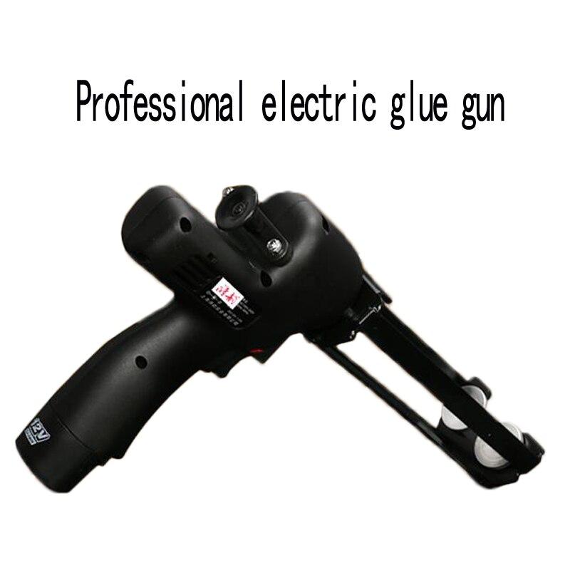 Double pipe hydraulic glue gun labor saving glue gun electric smart tile beauty seam glue gun construction tools 12V 1PC