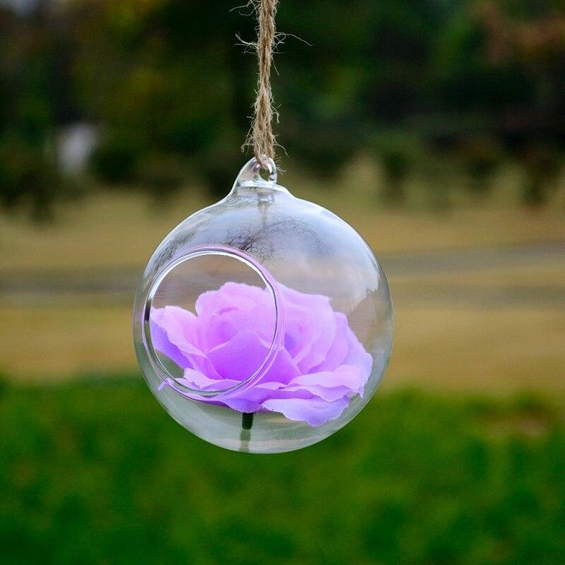 Diameter=10cm 64pcs/pack Glass Ball Terrarium Wedding Decorative Beautiful Friend Gift Glass Ornament Glasswares China Supplier