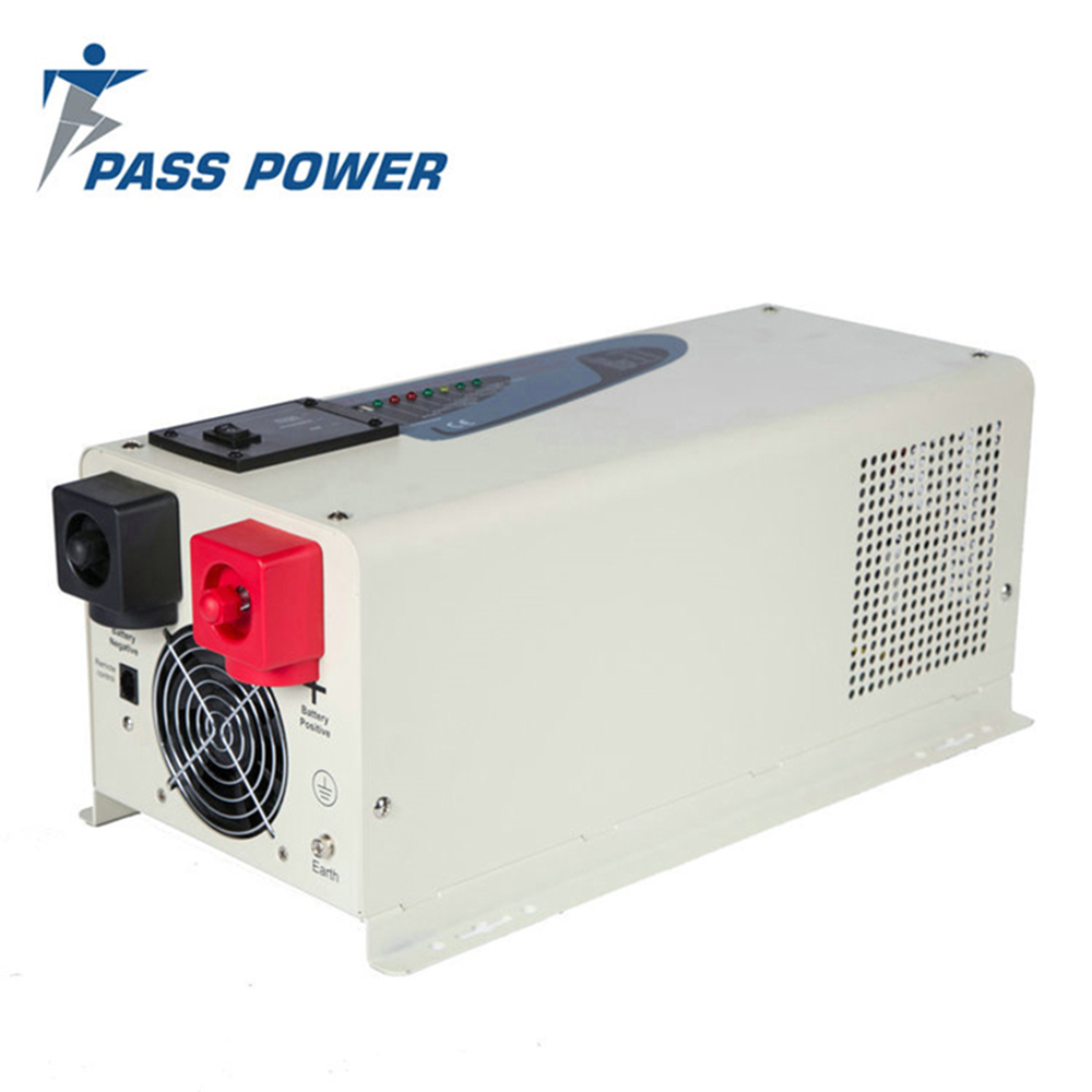 цена на 1kw to 6kw hybrid grid off solar inverter 2kw 2000w 12v 24V 48V pure sine wave inverter with charger