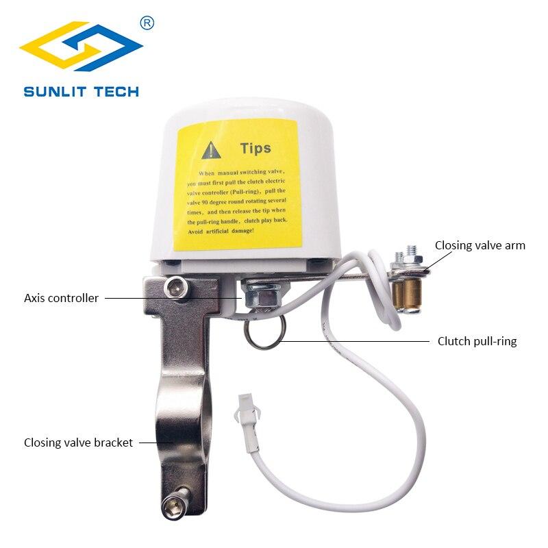 agua sistema de alarme com automaticamente desligado 03