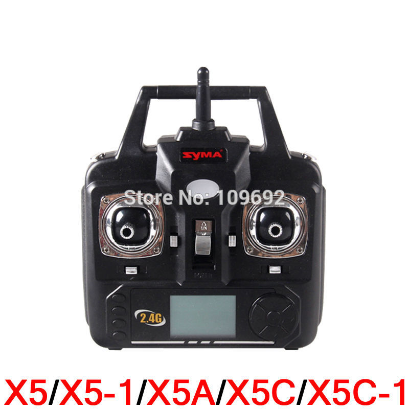 SYMA X5 X5C X5C-1 New Version RC Drone 2.4G Remote Control Helicopter Transmitter Accessories Controller Quadcopter Spare parts 2 0mp hd camera for syma x5c rc quadcopter helicopter drone with 2g memory card spare parts accessories revolution 2560 1440
