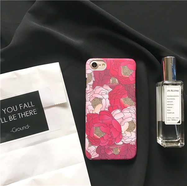 Pink Apple Iphone  Case