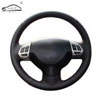Steering Wheel Braid For Mitsubishi Lancer EX10 Lancer X Outlander ASX Colt Pajero Sport Custom Made