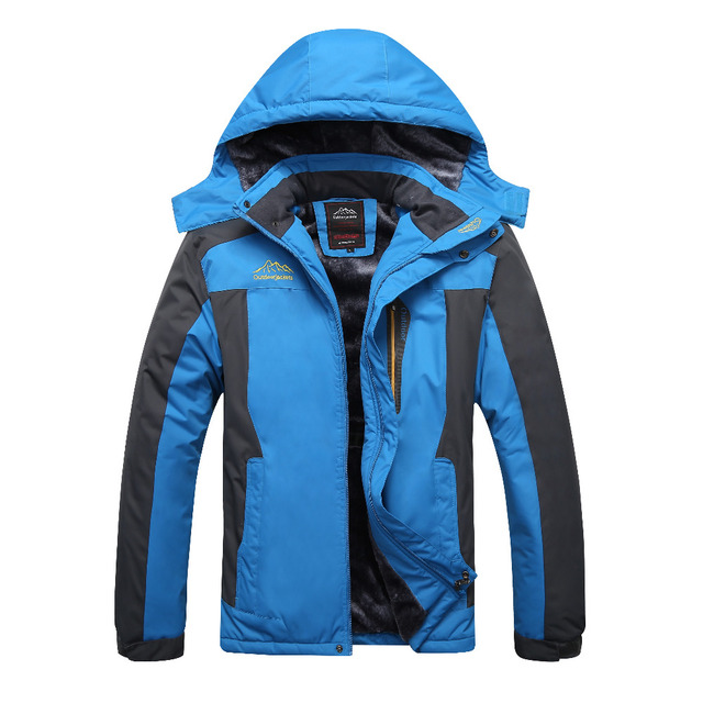 639d8ca1d4e 9XL Winter jackets pourpoint XL Plus size windproof coat Waterproof Fleece  thickening Big yards Warmth thick coat 7XL 8XL 6XL
