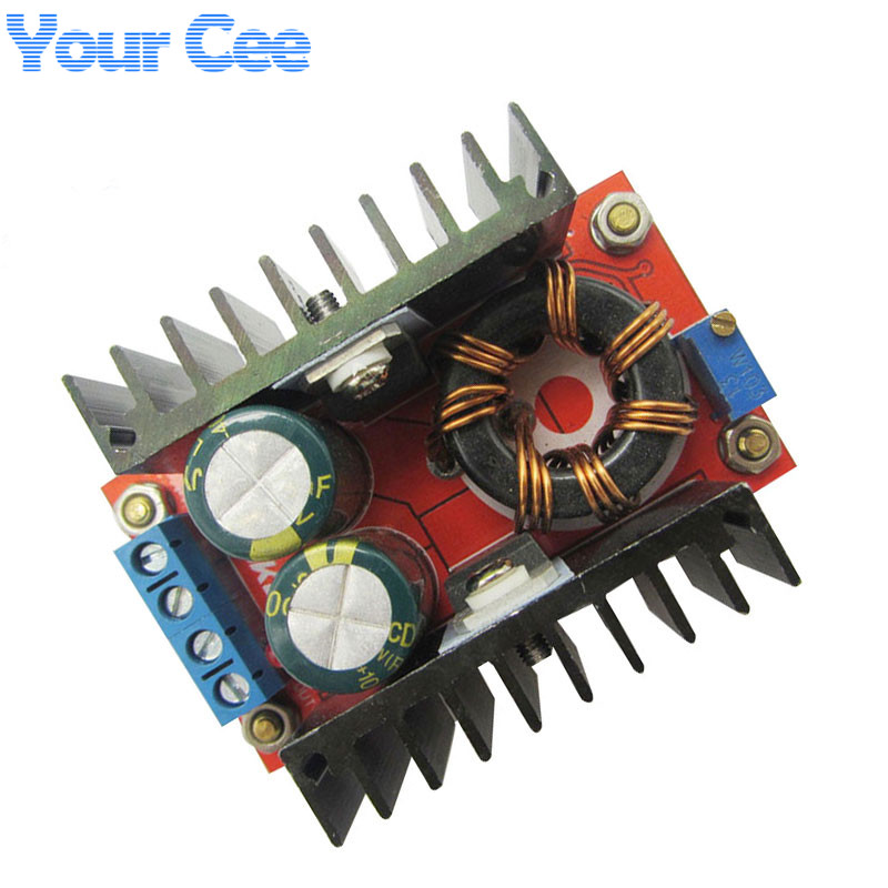 Temperate High Frequency Max 8a Dc-dc Step Up Isolation Booster Power Supply Converter Module Boost Board Solar Battery Charger Charging Punctual Timing Integrated Circuits