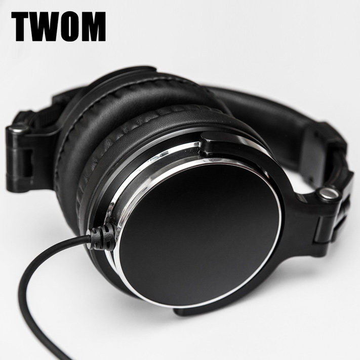 TWOM DIY QC3 HiFi Big Gaming Headphones for PC Subwoofer Computer Headset Stereo Earpiece Universal Wired Earphone for Game lucky john croco spoon big game mission 24гр 004