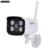GADINAN WIFI Câmera IP Sem Fio Padrão Ieee 802.11n 150 Mbps 4 pcs Matriz IR Led XMeye H.264 P2P ONVIF À Prova D' Água Móvel detecção