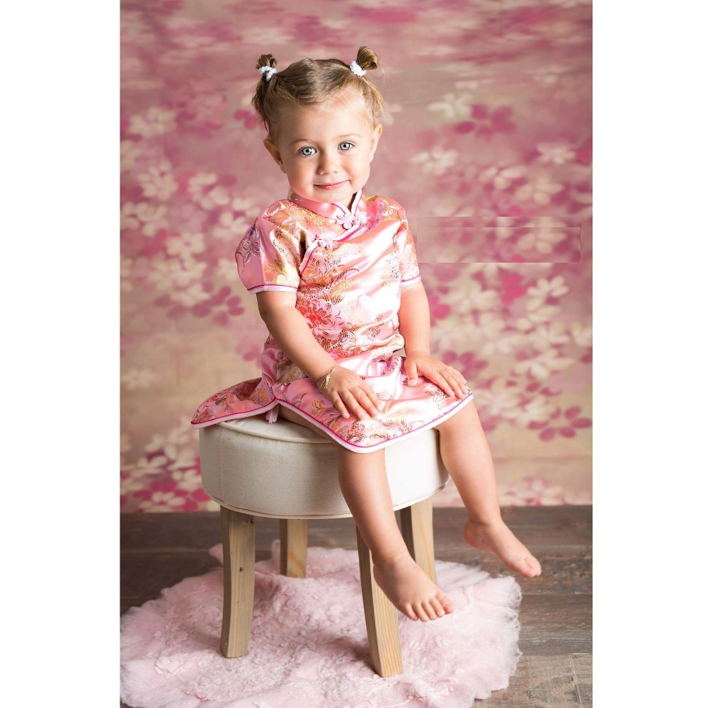 ᐅpeony Pink Baby Girl Dress Cute Toddler Infant One Piece Dresses