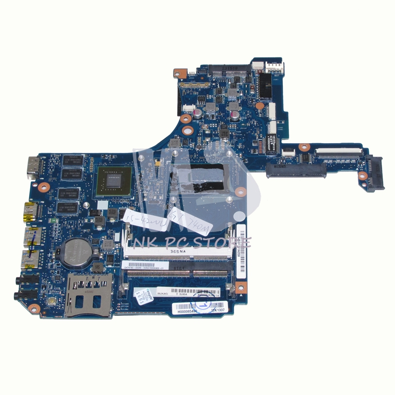 NOKOTION H000065490 Main board For Toshiba Satellite P50 P50-A Laptop Motherboard i5-4200U CPU DDR3 GT740M Video card