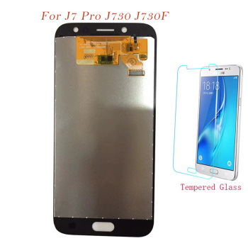 Test LCD Screen For Samsung Galaxy J7 Pro 2017 J730 J730F J730FM Touch Screen Digitizer LCD Display Adjust AAA Quality TFT LCD image