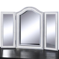 Hollywood LED Vanity Lights Mirror Light Dressing Table Flexible Light Strip Daylight White with Dimmer Excluding Mirror